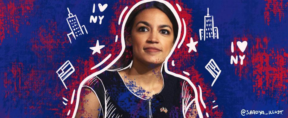 Alexandria Ocasio, la nueva representante de los jóvenes de origen puertorriqueño