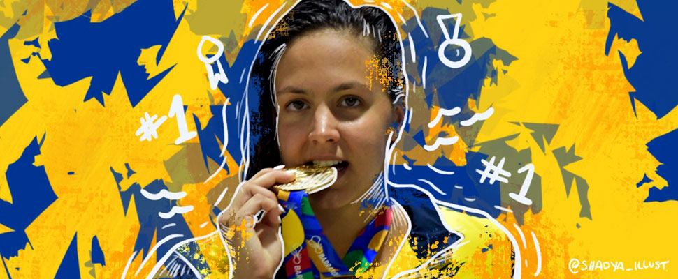 Who is Isabella Arcila? The swimmer who shined in the Central American Games