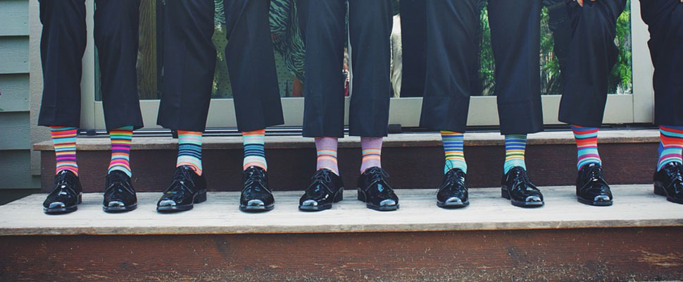 Colorful socks for men: dare to try them