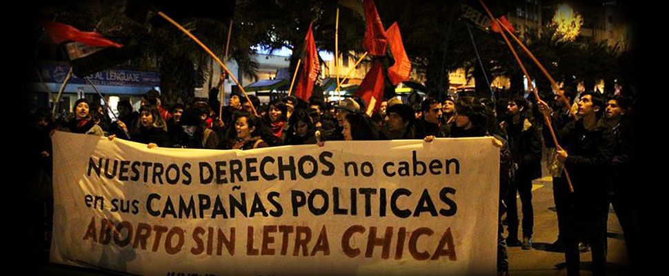 Is Chile willing to legalize abortion?