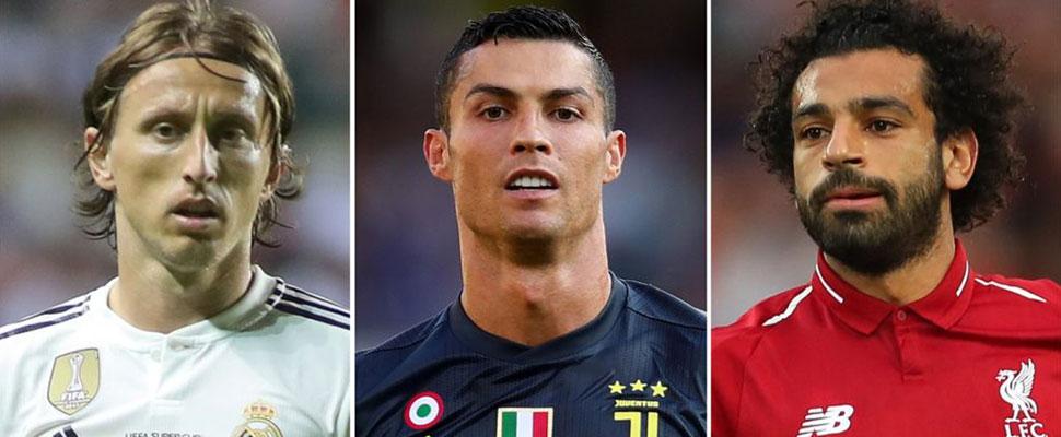 Cristiano, Modric o Salah, ¿quién ganará el premio al Mejor Jugador de la UEFA 2017-2018?