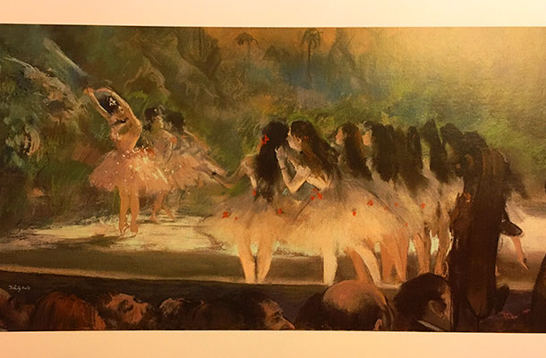 Ballet at the Paris Opéra - Edgar Degas