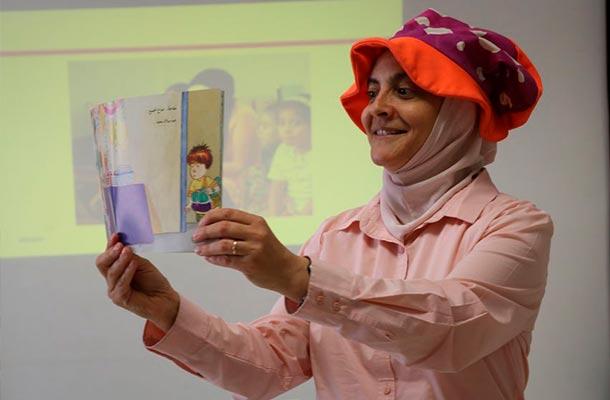 Promoción de lectura en Jordania