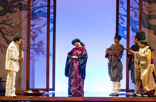 Madama Butterfly en el Teatro Mayor Julio Mario Santo Domingo