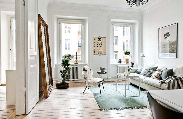 10 trucos sencillos para que tu sala se vea más amplia