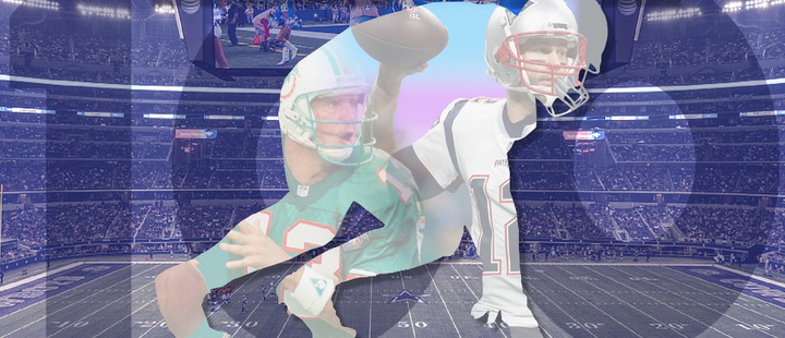 Jugador NFL - Tom Brady, Dan Marino