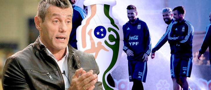 Sergio Goycochea- Selección Argentina de Fútbol - copa América