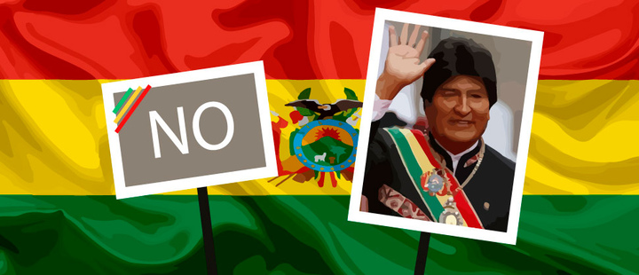 'Bolivia says NO' to the reelection of Evo Morales