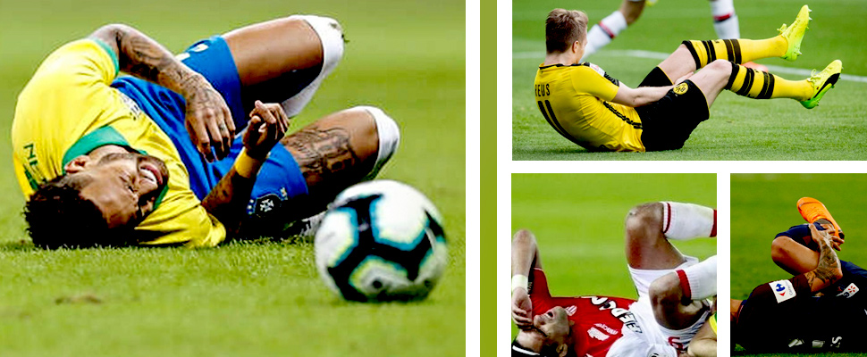 Neymar entered the list of 'damn' injuries in football