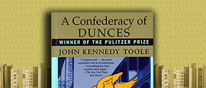 Book 'A Condeferacy of Dunces' by John Kenedy Toole