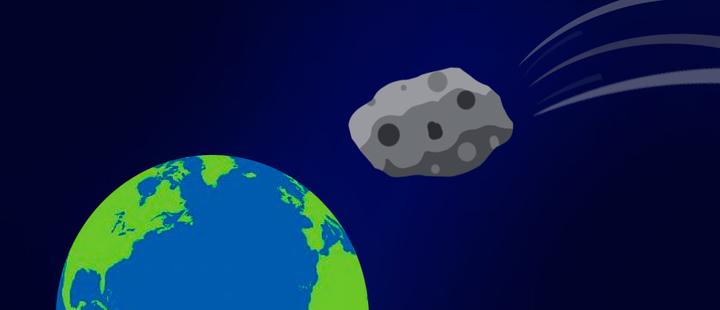 Todo lo que debes saber sobre el Asteroide Lu que pasará sobre la tierra este domingo