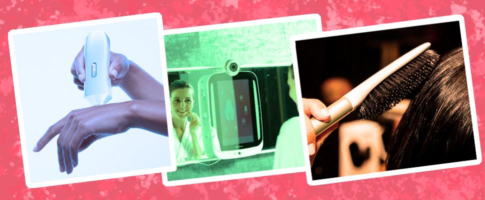 """""""Opté Precision Skincare System"""", """"Kérastase Hair Coach"""" and """"HiMirror Classic"""""""
