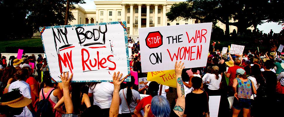 Marchas en Estados Unidos a favor del aborto