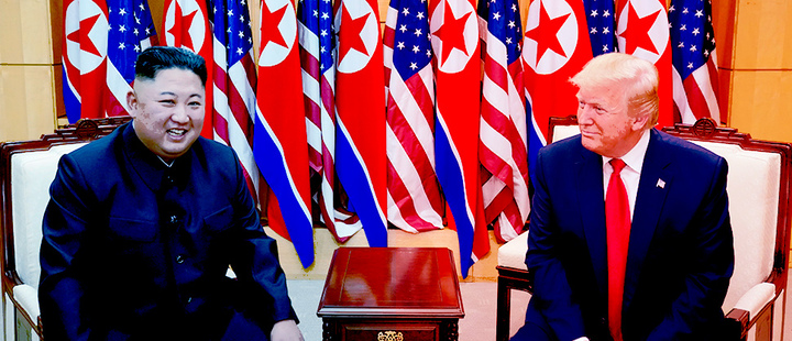 What Trump's brief visit to North Korea means