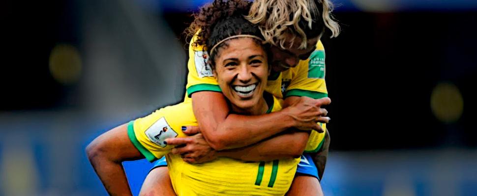 Brazilian professional footballer Cristiane Rozeira de Souza