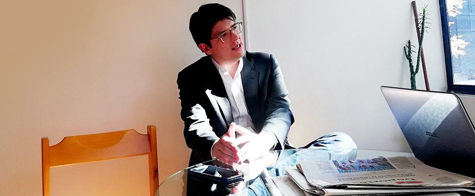 Miguel Uribe, candidato a la alcaldía de Bogotá