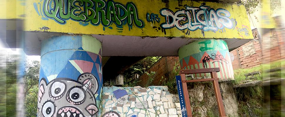 Quebrada Las Delicias en Bogotá