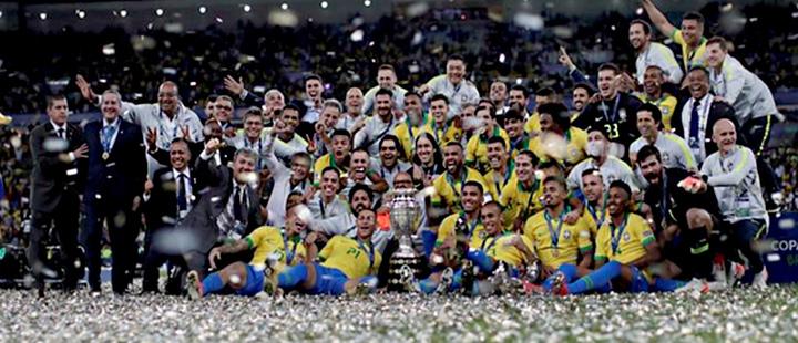 Jesus takes center stage as Brazil wins Copa America
