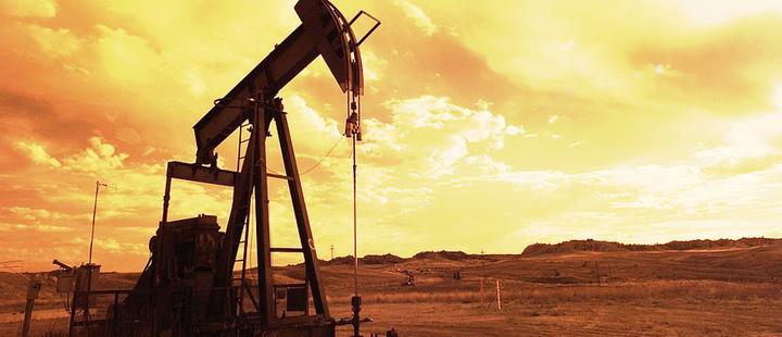 Toma de bomba extractora de petróleo