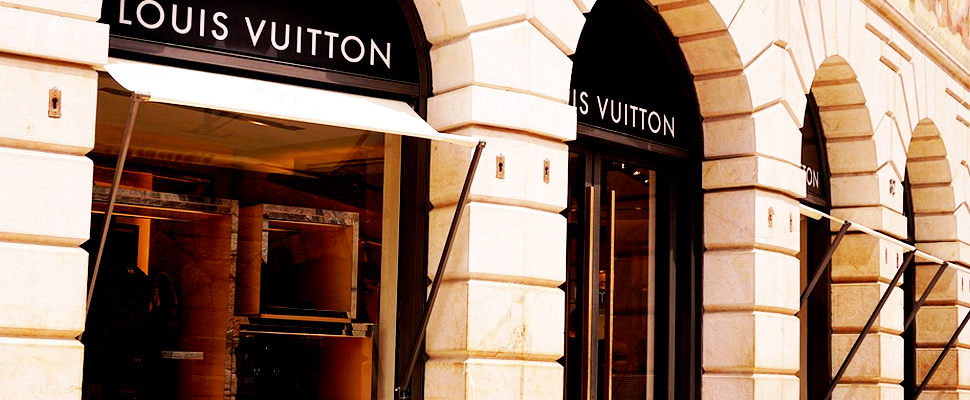 Store of the Louis Vuitton brand