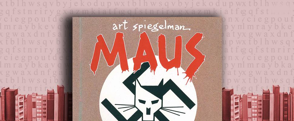 """Portada de """"Maus"""" de Art Spiegelman"""