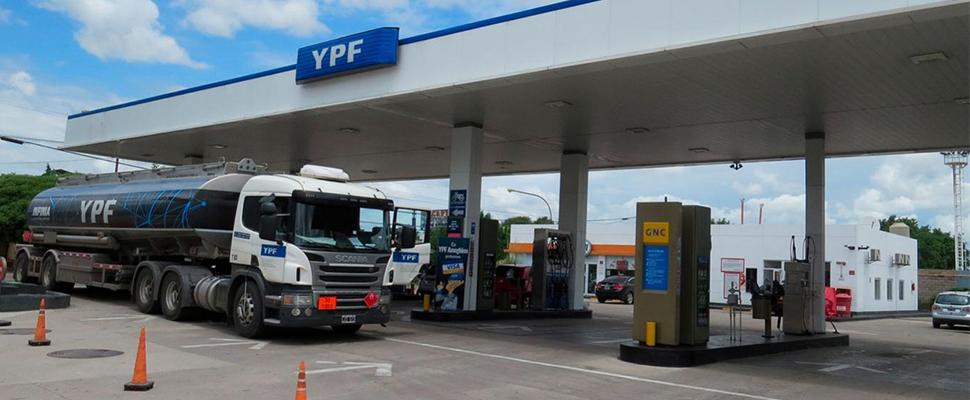 YPF gas station