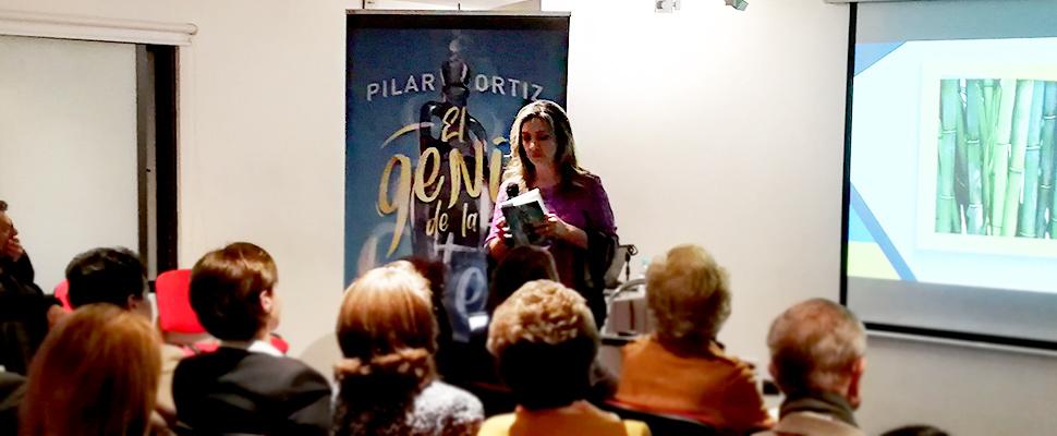 Presentación del libro 'El Genio de La Botella' de Pilar Ortiz
