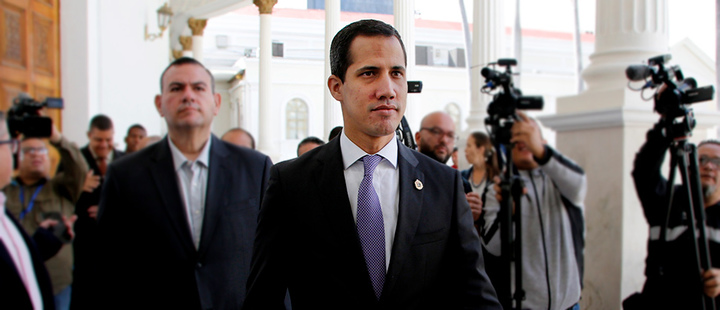 Leader of the opposition of Venezuela, Juan Guaidó