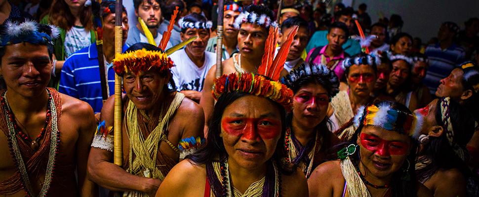 Ecuador's Waorani tribe