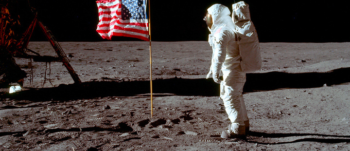 "Man on the moon: Buzz Aldrin remembers the ""magnificent desolation"""