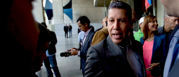 Lobbyist: Venezuela's Falcón not seeking presidency