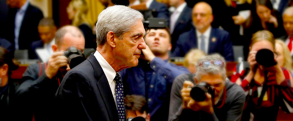 Former special counsel Robert Mueller arrives to testify before the House Judiciary Committee hearing on his report on Russian election interference, on Capitol Hill, in Washington.