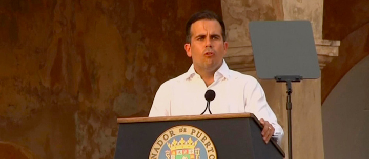 Puerto Rico governor resigns, protesters warn successor: 'We don't want you either'