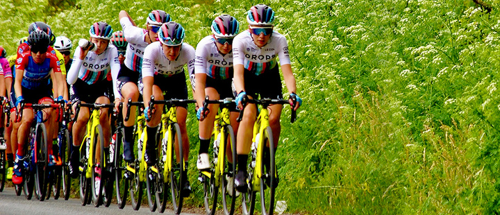 Cycling-Drops women's team fights to keep competing