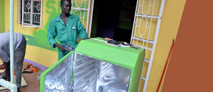 Ugandan entrepreneurs cook up eco-friendly dryer to cut food waste