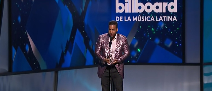 Romeo Santos at the 2019 Billboard Awards