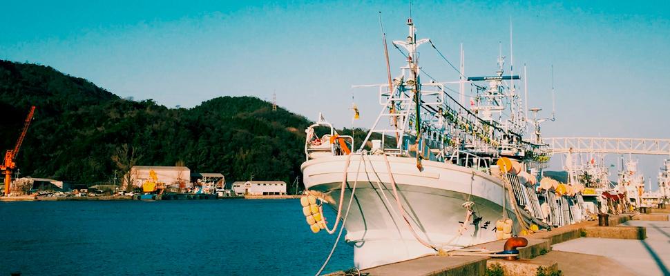 Boat beside dock