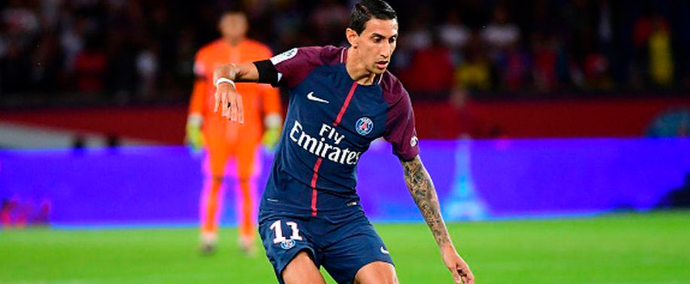 Angel di María, during a PSG game