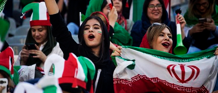 Women will be able to attend matches in Iran