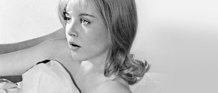 Actress Sue Lyon.