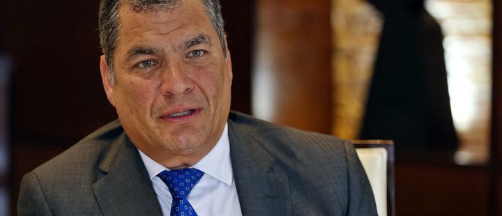 Llaman a juicio al ex presidente Rafael Correa