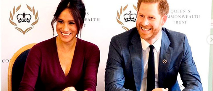 Dukes of Sussex, Meghan Markle and Prince Harry.