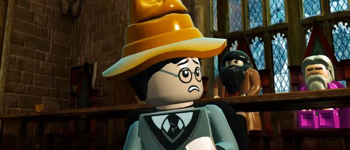 Trialer frame from the video game 'LEGO Harry Potter Collection'