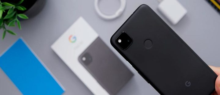 Google Pixel 4a cell phone