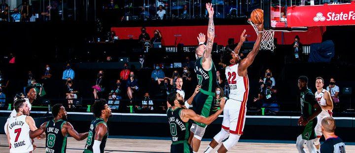 Match between Miami Heat and Celtics