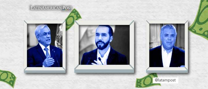 Sebastian Piñera, Nayib Bukele y Nicolás Maduro